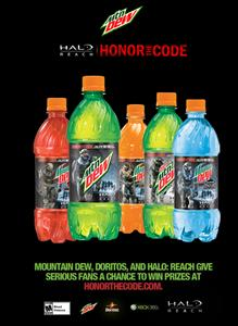 Flyer from the Honor the Code promotion